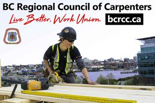 BC Regional Council of Carpenters Website