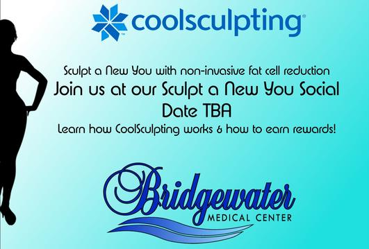 CoolSculpting Event, Sculpt a New You Social