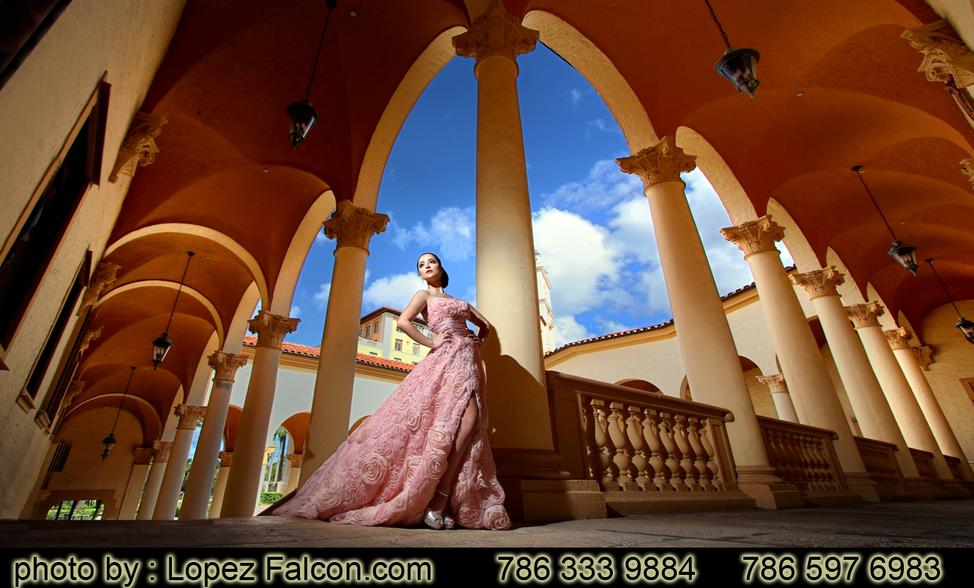 Biltmore Hotel Quince Party Quinceanera Photography Quinces at Biltmore Hotel Miami Coral Gables Dresses Dress