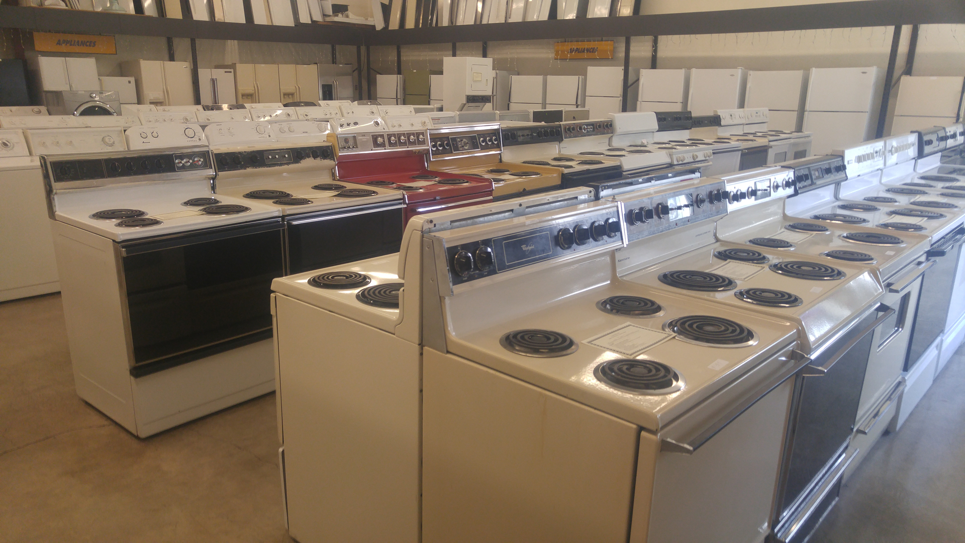 Uncategorized Reconditioned Kitchen Appliances appliance warehouse used appliances high quality come check out our reconditioned rebuilt appliances