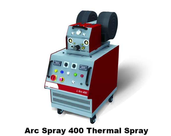 Arc 400 arc spray power supply