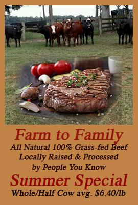 Farm to Family Summer Special CLICK HERE