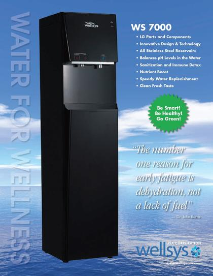 WS7000 Bottleless Water Cooler