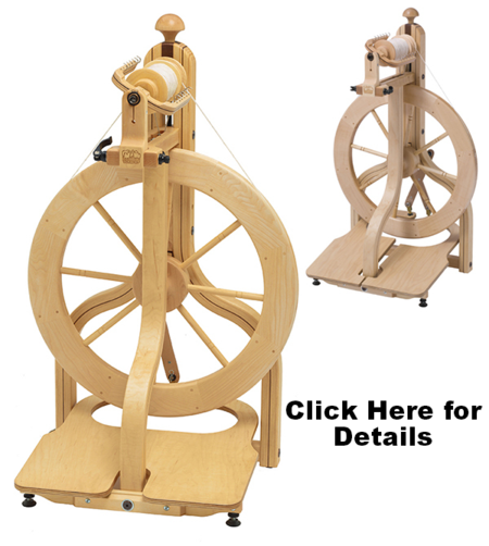 Schacht Doubble Treddle Spinning Wheels, New in stock West Michigan.