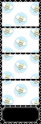Bumblebee Booths Photo Strip sample #6