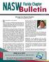 NASW-FL Fall 2016 Bulletin