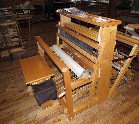 "Used LeClerc 36"" 8 Shaft loom with Bench and Double Back Beam."