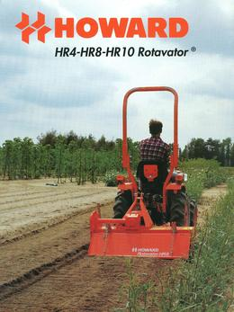 Howard Rotavator Models HR4-HR8-HR10 Brochure