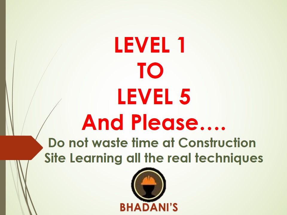 Bhadani Quantity Surveying Training Institute Pune Delhi Best