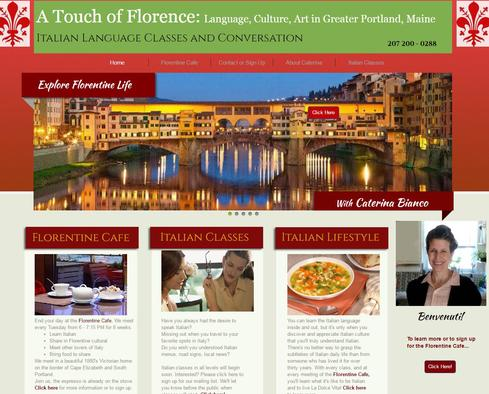 A Touch of Florence Website