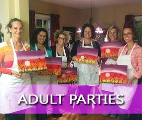 Mobile Paint Party Halifax Nova Scotia Creative Crew Art Parties