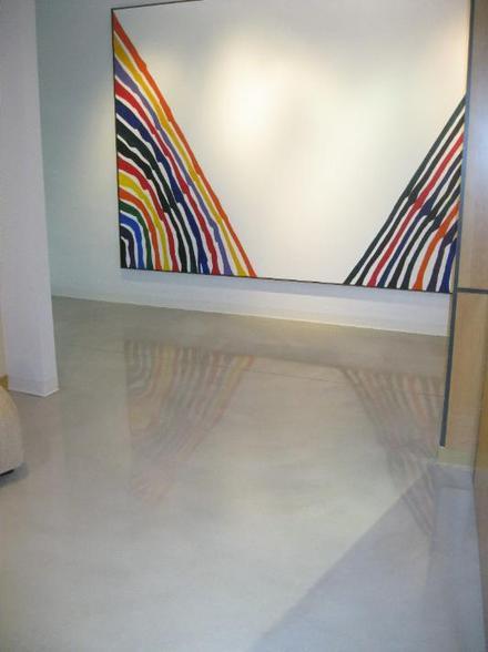 Reflector Enhancer Metallic Epoxy Floor In Akron Ohio