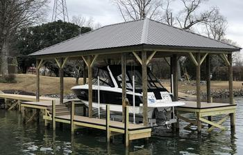 Lake Wylie Featured Docks by WaterJack