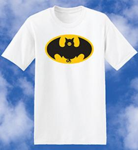The Bat Pig, Bat Pig, batpig, Flying Pig, Bacon, Pirate Pig, Bat Pig, Pig Hoof, Flying Pigs, Pirate, Bat Pig, Hoof, Hog, Ham, Swine, tee shirts, tshirts