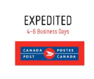 Canada Post Expedited Shipping