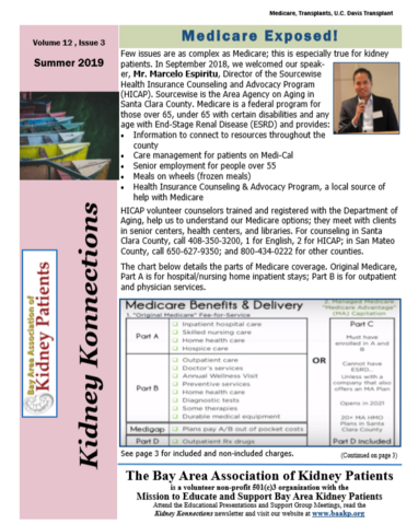 Kidney Konnections Summer 2019
