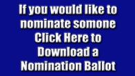 Nomination Ballot