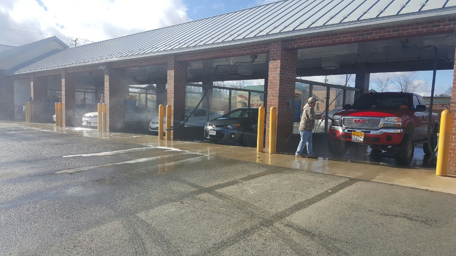 24/7 automated car wash, 24/7 self service car wash - rob's car wash