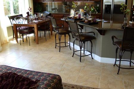 tile flooring kitchen living room dining room travertine ceramic tile