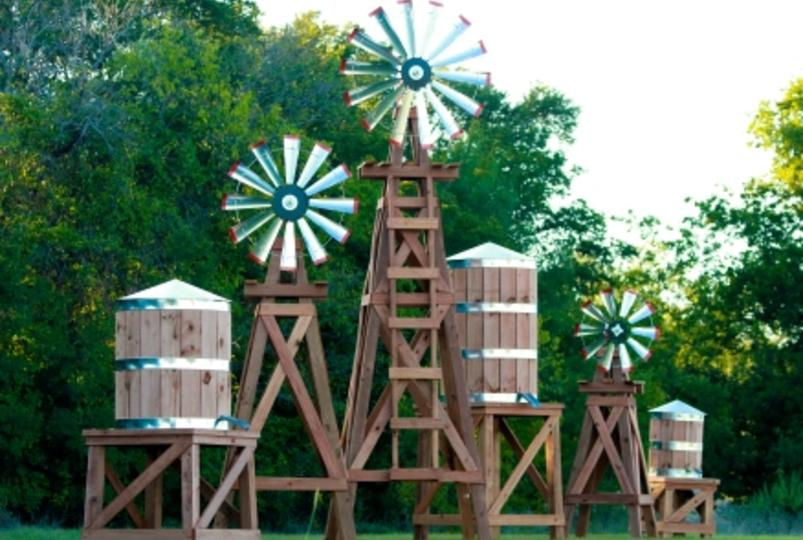 lonestar windmills is the manufacturer of decorative wooden windmills since 2001 we are located in ross tx our products are handcrafted to the highest - Decorative Windmills