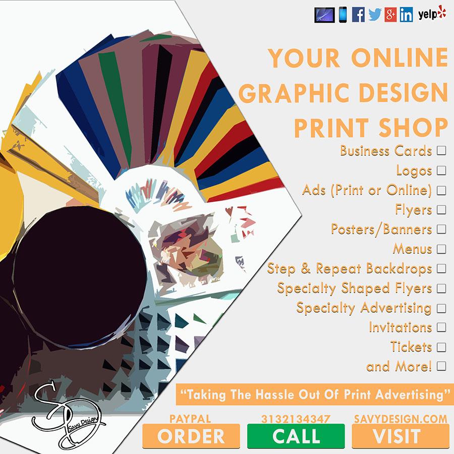home | online print shop | graphic design | savy design