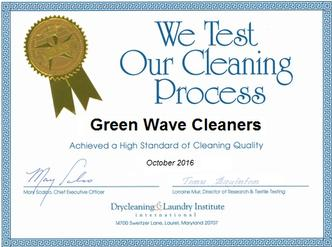 tested cleaning process award