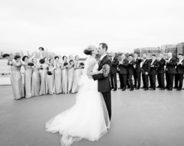 NJ Yacht Wedding Admiral Package