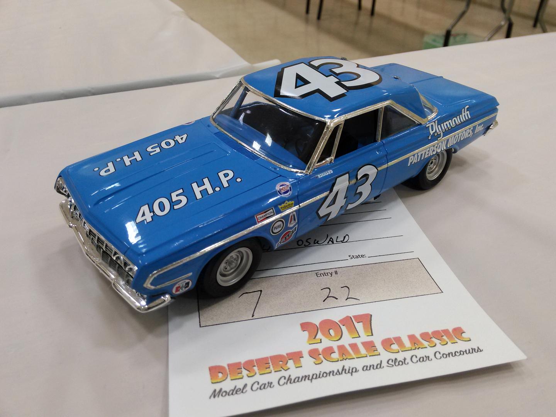 Desert Scale Classic Model Car Contest