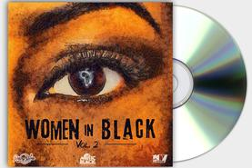 WOMEN IN BLACK VOL 2 COVER CD REGGAE RISING TIME DESIGN PROJECT DESIGN107