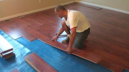 Premium Laminate Floor Installation Services in Lincoln, NE | Lincoln Handyman Services
