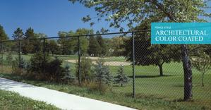 Color Coated Chain Link Fencing - Chain Link Fence Company In Chicago