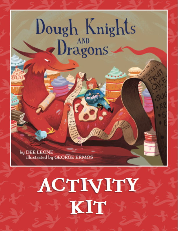 Dough Knights and Dragons Activity Kit