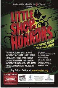 Anoka Middle School for the Arts Theater poster