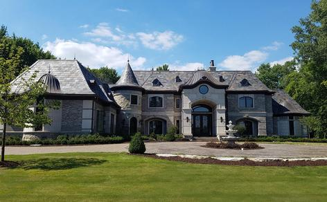 french chateau estate bloomfield hills private