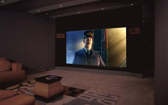Hong Kong TV & Film Producer Studio Grade HD Screening Room in Vancouver Canada