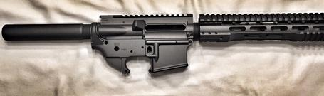 Guardian Arsenal Cerakote AR-15 Tungsten
