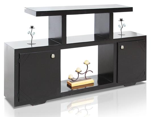Mesas para tv for Muebles de tv de madera