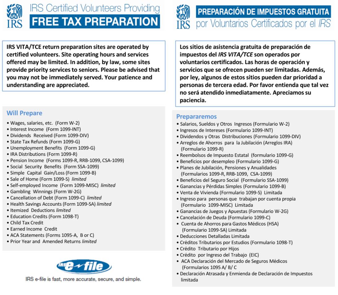 Tax Services Offered By Hermanas Latinas De Florida Inc Hl De