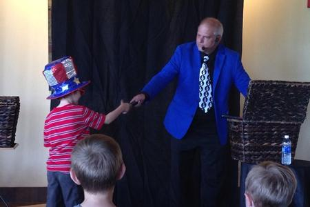 Glenside Magician Rick DZ Magic for Birthday Parties