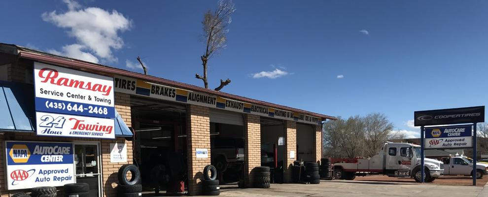 Ramsay Service Center Tire Shop Vehicle Repair Auto Repair