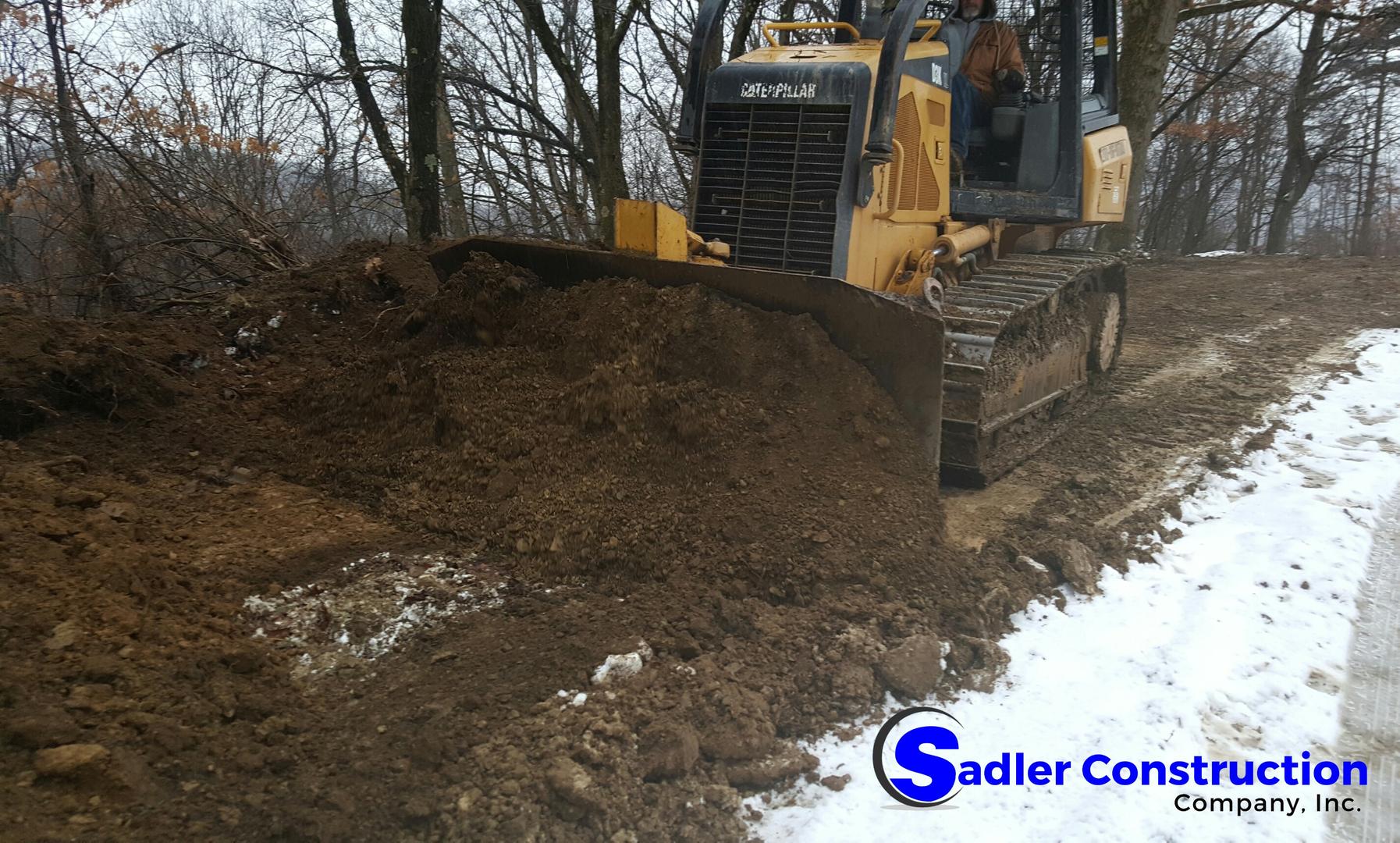 Sadler Construction Company, inc  : Services