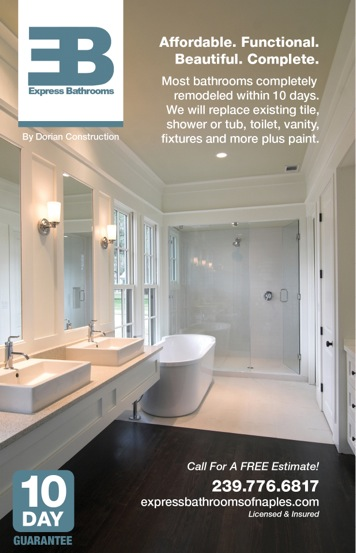 Bathroom Remodeling Tile Express Bathrooms Naples Fl - Bathroom fixtures naples fl