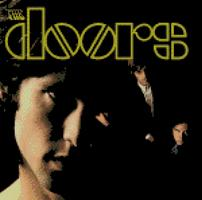 Cross Stitch Chart Pattern of the Doors LPCover Art
