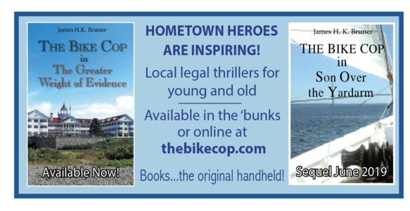 The Bike Cop legal thriller series