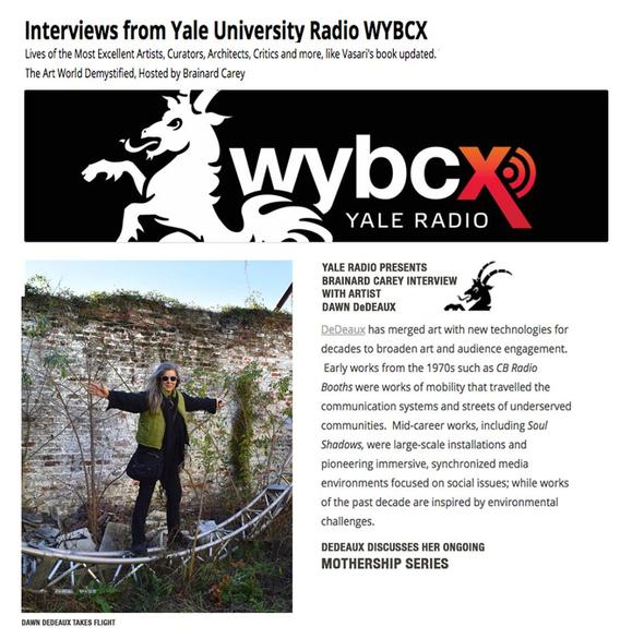 YALE RADIO INTERVIEW WITH DAWN DEDEAUX