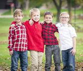 photo by shrinking buffalo productions - family photo youth boys in park