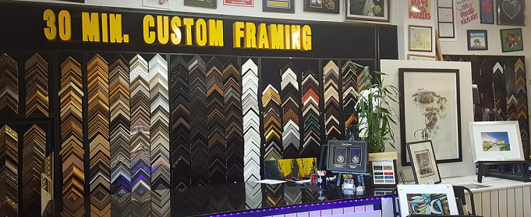 we stretch oil on canvas with same day services frames usa offers the best conservation custom framing in miami