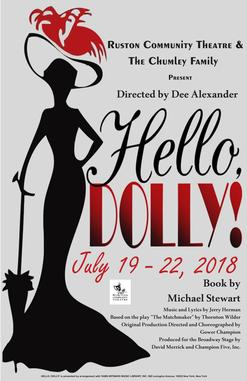 RCT Presents: Hello Dolly! @ Dixie Center for the Arts