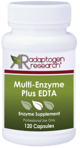 Multi Enzyme Plus EDTA - Adaptogen Research