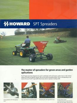Howard SPT Fertilizer Spreaders Brochure